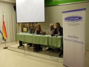 ASAMBLEA CONAM 2012