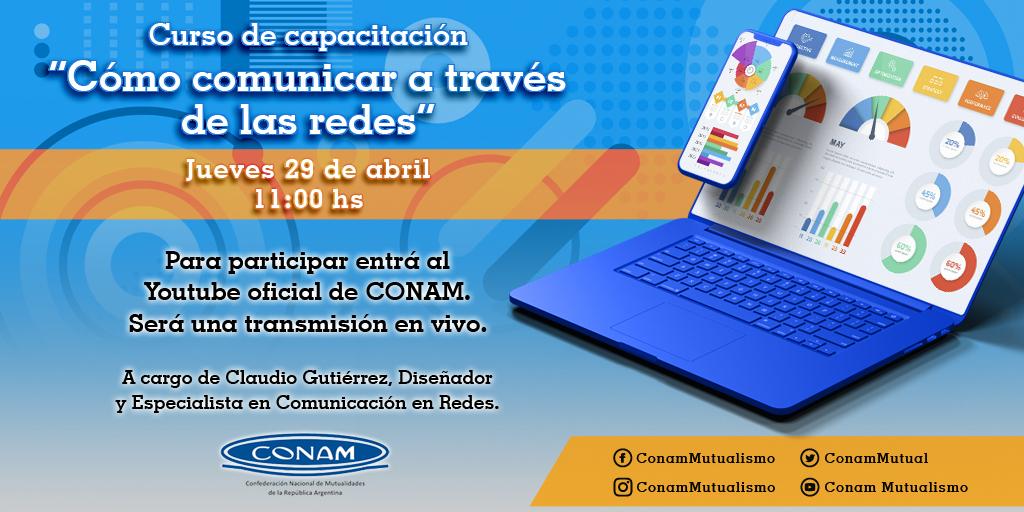 flyer ''CÓMO COMUNICAR A TRAVÉS DE LAS REDES''