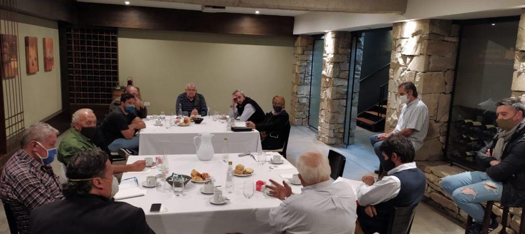 reunión directivos de femmevi con representante del inaes
